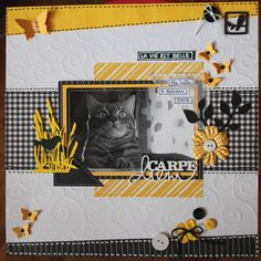 Scrapbook Layout Sketches, Scrapbooking Layouts, Scrapbook Paper Crafts, Scrapbook Pages, Picture Scrapbook, Cat Sketch, Image Layout, Photo Layouts, Travel Scrapbook