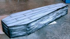 Spooky Blue's Halloween Home Made Coffin - this site has a lot of great Halloween DIY projects.