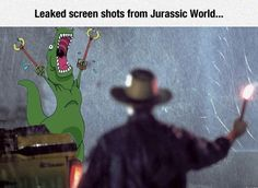 Leaked screen shots from Jurassic World