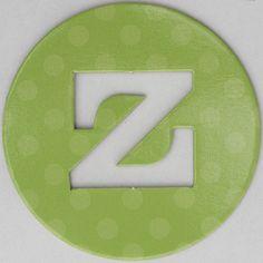 coloured card disc letter z by Leo Reynolds, via Flickr