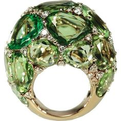 Pomellato----what a gorgeous ring, love the color and the shape!! Maybe I'll try to make one similar