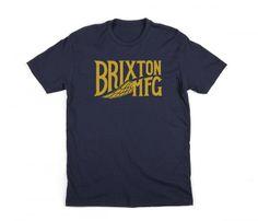 Girder - Tees - Men's - Shop   BRIXTON Apparel, Headwear, & Accessories Screenprinting, Brixton, Printed Tees, Mens Tees, Man Shop, Gift, T Shirt, Accessories, Shopping