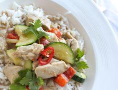 Thaise kip curry - Vertruffelijk