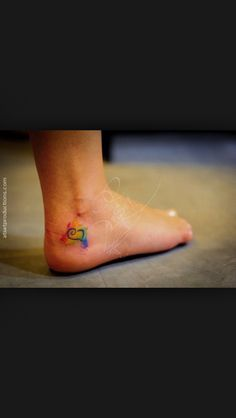 Rainbow bridge tattoo.....perfect for those already there.