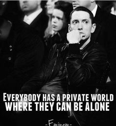 Just, I don't recommend you, Marshall to be alone in public. Eminem Memes, Eminem Lyrics, Eminem Rap, Drake Lyrics, Rapper Quotes, Quotes Quotes, Life Quotes, Yoga Quotes, Random Quotes