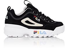 We Adore: The Disruptor II Nubuck Sneakers from FILA at Barneys New York