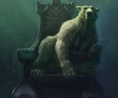 Polar Bear King by Otis-makes me think of the cloven, from Andrew Peterson's Wingfeather Saga <---Yesyesyes