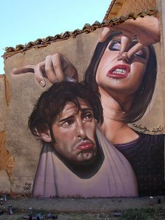 Rabodiga painted by Belin  Belin painted by Rabodiga    July 2008, Sordillos, Burgos, SP    OGT Crew