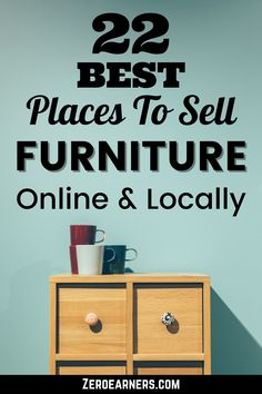Are you interested to sell your used furniture online or locally? If yes then you are at the right place. Here is the complete list of the best places to sell used furniture online or locally. #sellstuffonline #sellfurniture #furniture Sell Used Furniture, Selling Furniture, Furniture Online, Sell Used Stuff Online, Sell Stuff, How To Find Out, How To Make Money, Selling Online, Extra Money