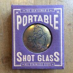 Men shot glass