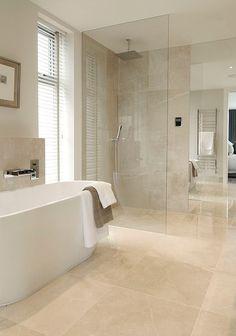 Master Bathroom Remodel Shower Color Schemes Ideas For 2019 Bathroom Renos, Small Bathroom, Master Bathroom, Beige Tile Bathroom, Travertine Bathroom, Bathroom Design Luxury, Upstairs Bathrooms, Shower Remodel, Remodel Bathroom