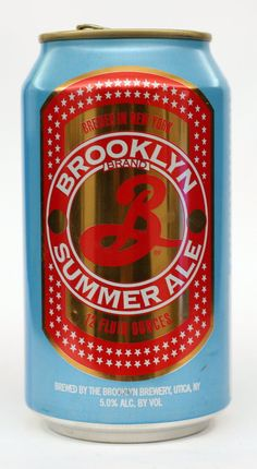 Brooklyn Summer Ale - a little bit of summer in a can!
