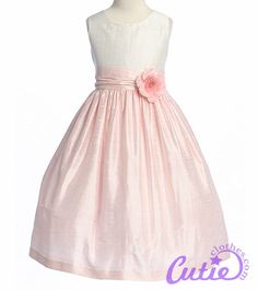 Perfect....Flowergirl dress, this would b cute in purple or green -jill
