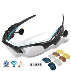 Bluetooth Polarized UV 400 With 5 Lenses