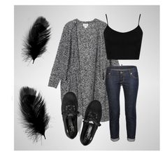 """""""Casual Cute"""" by caitiemantie ❤ liked on Polyvore featuring Monki, Topshop, Dsquared2 and Keds"""