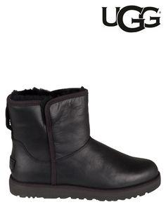 UGG   Cory Leather   Ankle boots   Black   MONFRANCE Webshop