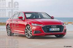 Audi A6 (C8) render