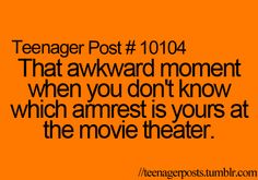 Teenager Posts- I once drank someone else's drink.... They didn't notice...