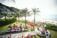 Katathani Beach Wedding, Phuket. Aidan Dockery Wedding Photography. www.theweddingnotebook.com