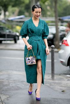 More Inspiring Street Style from the Paris Couture Shows - Fashionista