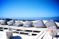 White Sails Ibiza's Rooftop Chillout with 270-degree Seaviews