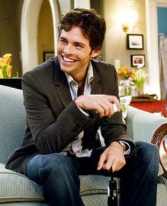 James Marsden...I would try on 27 dresses for you too...