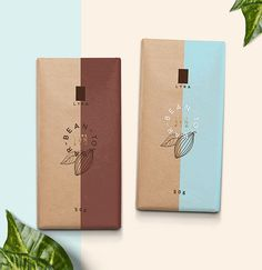 Lyra Bean-To-Bar Chocolate on Packaging of the World - Creative Package Design… Packaging Box Design, Kraft Packaging, Coffee Packaging, Pretty Packaging, Choclate Bar, Chocolate Chocolate, Packaging Inspiration, Inspiration Design, Product Design