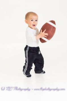 He's ready for some football!