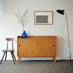 ANTON SIDE CABINET ANTON brown: キャビネット・シェルフ デザイン家具 インテリア雑貨 - IDEE SHOP Online