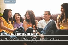 talk to your teenager