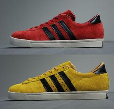adidas Originals Greenstar-Vivid Red and Sunshine #sneakers #kicks