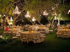 Elegant outside wedding venue in Buda, TX