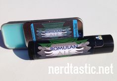Blueberry Basil Romulan Ale Lip Balm Tube # #