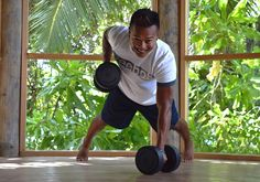 Fitness and wellness at the Six Senses Spa Laamu, Maldives
