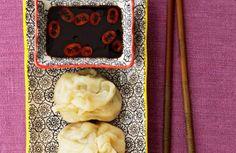 Koreaanse gehakt kool Dumplings