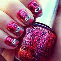 Did @murrayriley #nails! #reindeernails ❤ #nailsbyiloveyou | Use Instagram online! Websta is the Best Instagram Web Viewer!