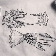 tattoo of hands etching - Google Search