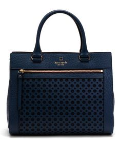 Look at this Kate Spade French Navy Romy Perri Lane Bubbles Tote on #zulily today!