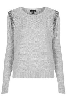 Ombre Embelished Jumper - New In This Week - New In