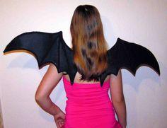 Vampirflügel Fledermausflügel schwarze Flügel z. Fledermaus Kostüm Vampir 90 cm   eBay