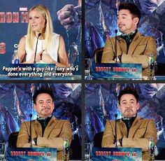 Tony Stark accepts your accolades with grace.