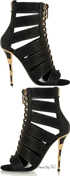 Balmain ● SS 2015  shoes ( booties )