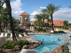 The amazing waterpark facilities at Regal Palms, Orlando.