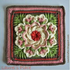 Tropical delight granny square http://www.mellieblossom.com/wp-content/uploads/2015/01/tropical-delight-1.jpg