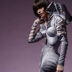 TRENDHUNTER FASHION: From Iconic Sci-Fi Character Tights to Robot Gowns http://www.fashion.net/today/
