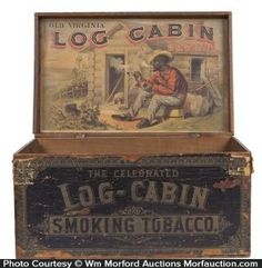 Find the price of your antique tobacco tins, vintage tobacco signs or any product featuring tobacco advertising with descriptions, photos and prices. Wooden Cigar Boxes, Wooden Crates, Clay Pipes, Barn Parties, Cabin In The Woods, How To Antique Wood, Antique Signs, Vintage Tins, Display Boxes