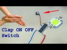 How to make a Clap ON OFF Switch, super easy clap switch, clap sensor. Today i will show you how to make a clap switch, on off clap switch superb easy clap s. Electronics Mini Projects, Electronics Basics, Electrical Projects, Organize Electronics, Electronic Circuit Design, Electronic Engineering, Electrical Engineering, Clap On Clap Off, Electrical Circuit Diagram