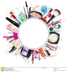Makeup Tools Wallpaper Hair Beauty - Makeup tools wallpaper & make-up tools tapete & outils de maquillage fond - Makeup Backgrounds, Makeup Wallpapers, Cute Wallpapers, Make Up Tools, Tools Tools, Makeup Clipart, Sexy Make-up, Pink Und Gold, Makeup Illustration