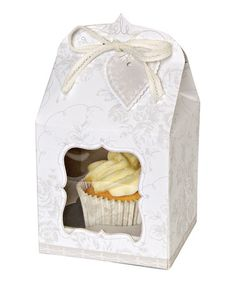 Take a look at this To Have & To Hold Small Cupcake Box - Set of Four by Meri Meri on #zulily today!