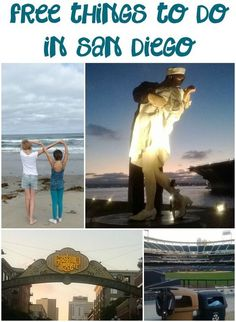 10 Free Things to do in San Diego-- For when we move to Cali San Diego Vacation, San Diego Travel, Road Trip Usa, Oh The Places You'll Go, Places To Travel, Travel Destinations, San Diego Area, California Dreamin', California Vacation